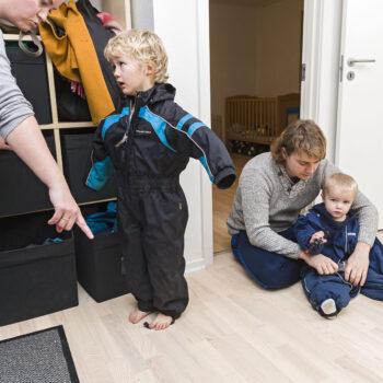 Tackler konflikter med børn